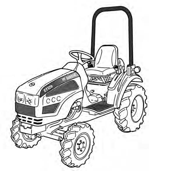 Bobcat Ct120 Compact Tractor Service Repair Manual Download