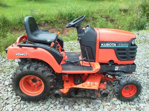 Kubota Bx1800 Bx2200 Tractor Workshop Manual Download