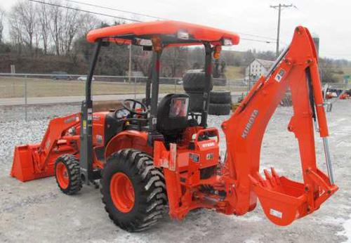 Kubota B26 Tl500 Bt820 Tractor  Front Loader  Backhoe