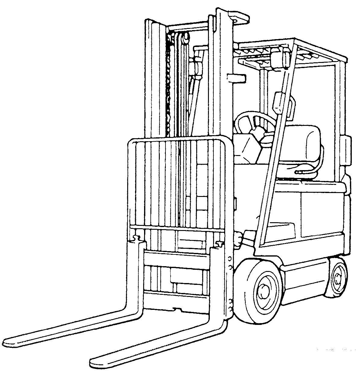 Toyota Forklift 7fgu  7fdu15